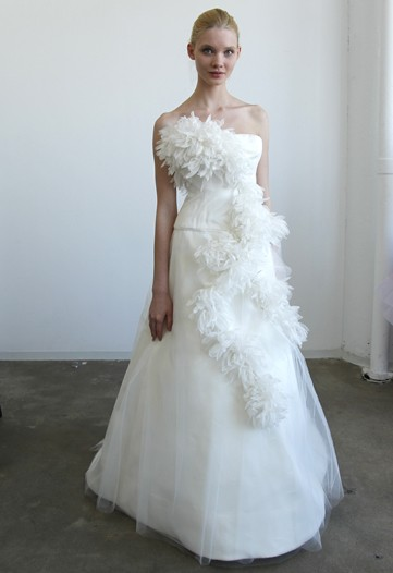 2011 bridal gowns exclusive latest trend wedding fashion