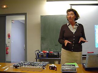 Patricia de Nicolai at Osmothèque