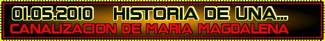 CANALIZACION DE MARIA MAGDALENA