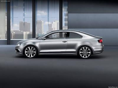 2010 Volkswagen New Compact Coupe Concept. 2010 Volkswagen New Compact