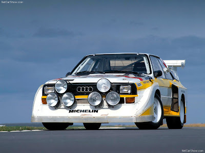 The Audi Sport Quattro S1 was introduced at the end of 1984