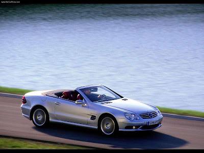 Mercedes-Benz SL55 AMG F1 Safety Car (2003) скачать обои