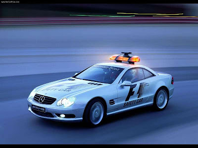 مرسيدس اس ال 55 بوليس 2003 Mercedes-Benz SL55 AMG F1 Safety Car