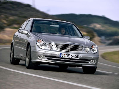 Mercedes-Benz E350 with Sports Equipment