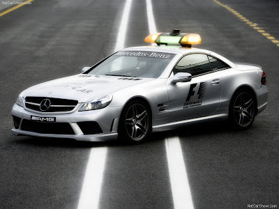 Mercedes Benz SL 63 AMG F1 Safety Car 2008 800x600 Wallpaper 01