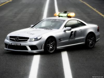 Mercedes Benz SL 63 AMG F1 Safety Car 2008 800x600 Wallpaper 01