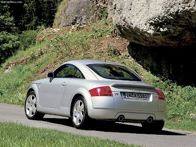 Audi TT Coupe Audi TT The production model was launched as a coupé in