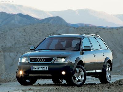 Audi Allroad Quattro 2001. 2000 Audi allroad quattro 2.7T