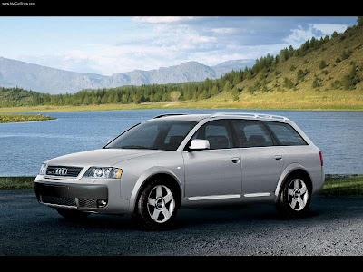 2005 Audi Allroad Quattro. 2005 Audi allroad quattro V8