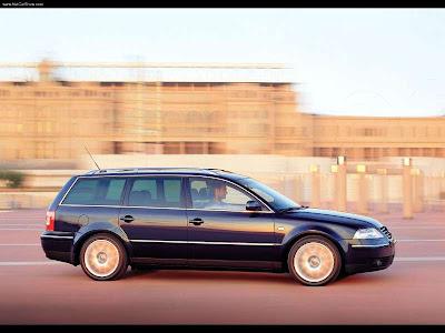 2001 Volkswagen Passat W8 Variant