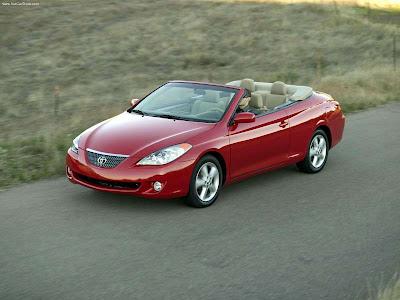 2004 Toyota Camry Solara Convertible V6 SE