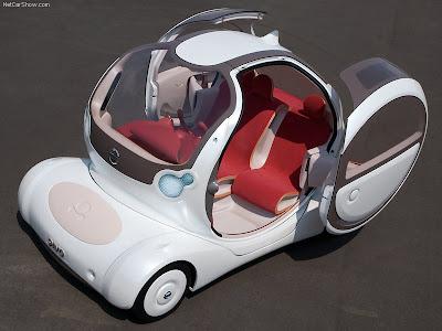 2005 Nissan Zaroot Concept. 2005 Nissan Pivo Concept