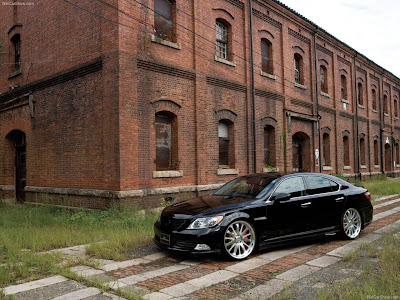 2007 Wald Lexus Is. 2007 Wald Lexus LS