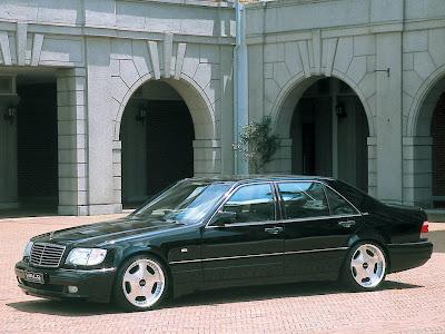 2002 Wald Mercedes Benz S Class. Wald Mercedes-Benz S-Class