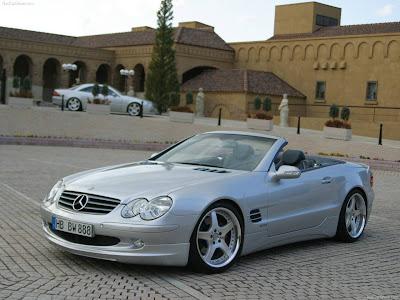 2007 Wald Mercedes Benz S Class W220. 2002 Wald Mercedes-Benz SL-