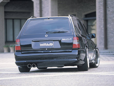 2007 Wald Mercedes Benz S Class W220. Wald Mercedes-Benz W124 TE