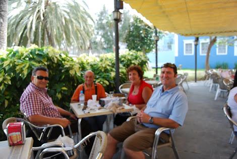 Reunión de amigos de la mineralogía de Gran Canaria
