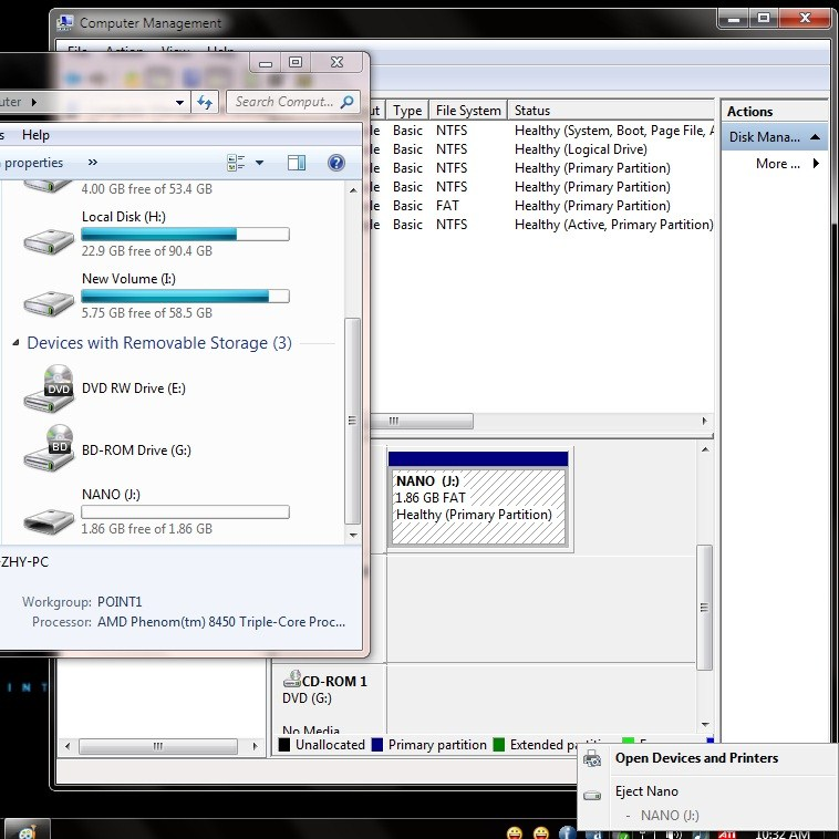 Manage Disk Letters In Win
