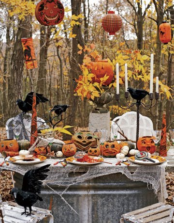 Vintage halloween d cor halloween decorations ideas for Vintage outdoor decorating ideas