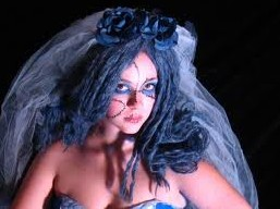 Halloween-wedding-and-bride