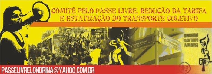 Comitê pelo Passe Livre em Londrina