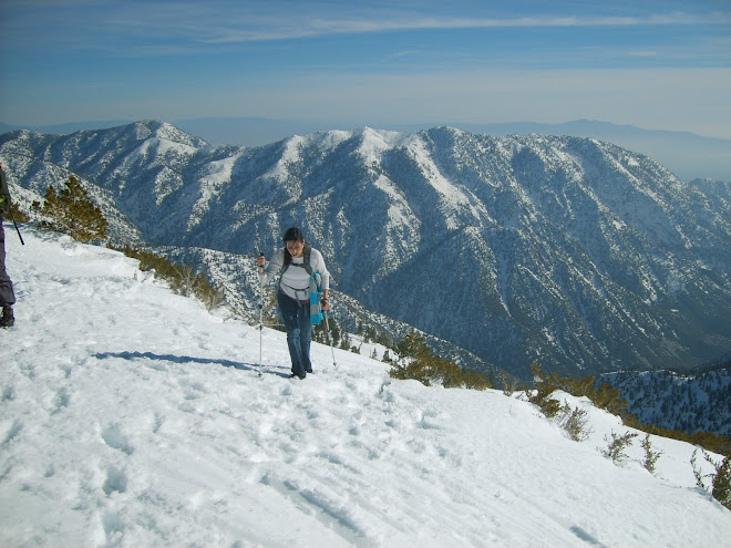 mt. baldy and me - Spring 2008