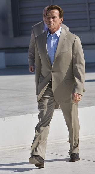 LA Photo: Governor Schwarzenegger's Brioni