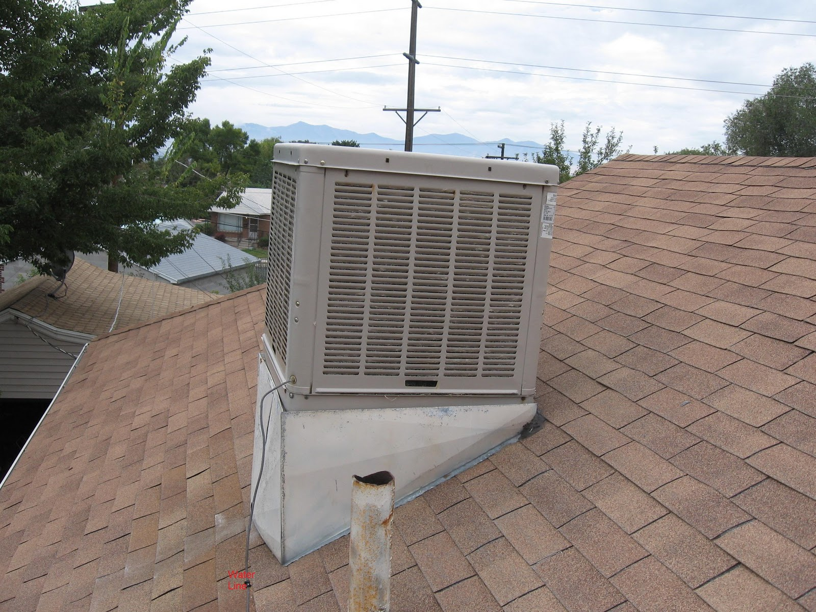 Roof Mounted Swamp Coolers : How it looks from here the second law and swamp coolers