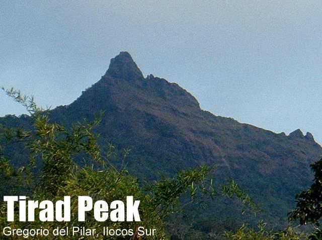 tirad peak 1388 in gregorio del pilar ilocos sur
