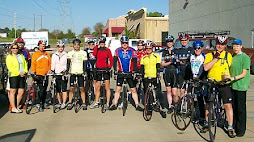 April 2009 Natchez Trace Bicycle Tour, not pictured Craig Rambin and Frank Phillips