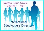 Member of the International Edubloggers Directory