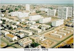 VISTA PARCIAL DA CIDADE - 1970.