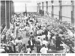 INTERIOR DO MERCADO DE KINAXIXE, O PRIMEIRO PISO - ANO 1960.
