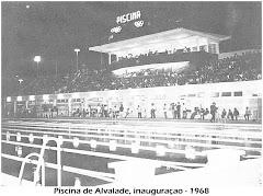 INAUGURAÇÃO DA PISCINA OLÍMPICA NO BAIRRO DE ALVALADE - ANO 1968.