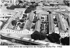VISTA AÉREA DO HOSPITAL DE DONA MARIA PIA - ANO 1966.