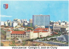 VISTA PARCIAL DO COLÉGIO DE S. JOSÉ DO CLUNY, MERCADO DO KINAXIXE, E MUSEU DE ANGOLA - ANO 1972.