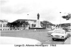 LARGO D. AFONSO HENRIQUES - ANO 1965.