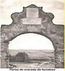 PORTAL DA FORTALEZA DE CAMBAMBE, ANO - 1947.