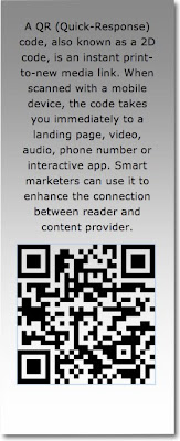 Description of where to use QR codes and how they make traditional media interactive