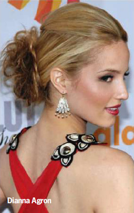 dianna agron haircut 2011. Short Hairstyles For Mature
