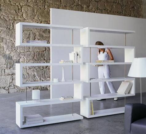 modulares en previsión de un aumento de tamaño en la estantería