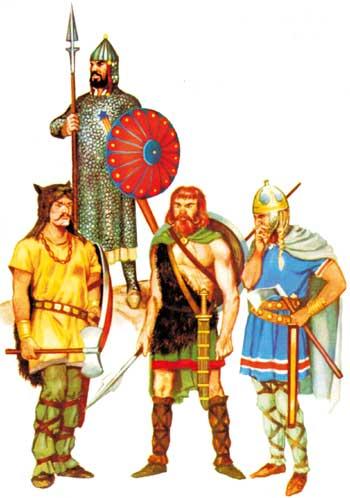 1 2 3 dure d 39 tre un enfant les invasions barbares ce2 cm1 cm2 - Le grill des barbares ...