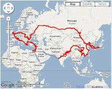 旅の軌跡: GPS Log