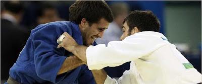 Puerto Rican Olympian Abderramán Brenes la Roche at Beijing 2008