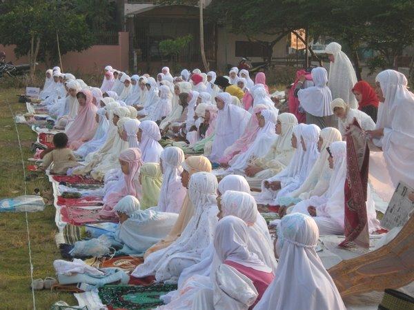 Kegiatan Shalat Idul Fitri 1429 H