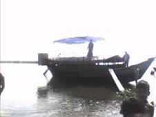cruise on Meghna beyond Sonargaon
