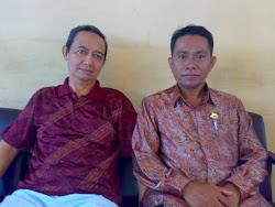 Ketua DPW Kalsel dan Ketua DPD Tapin