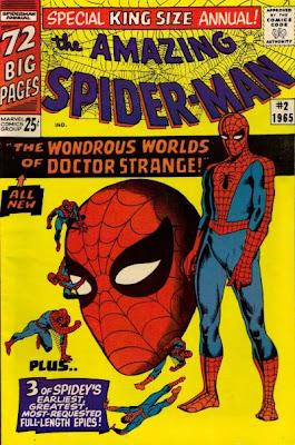 Amazing Spider-Man Annual #2, Dr Strange, Steve Ditko
