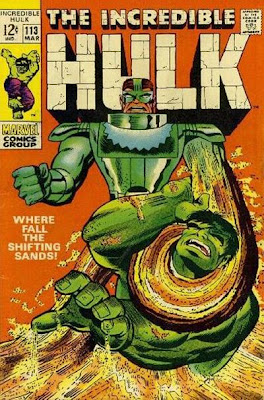 Incredible Hulk #113, the Sandman
