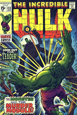 Incredible Hulk #123, The Leader and the Murder Module tripod